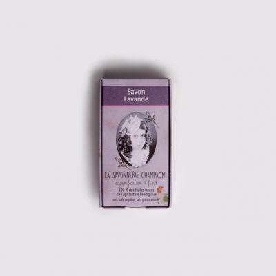 Savon saponifia a froid huile essentielle lavande peau sa che
