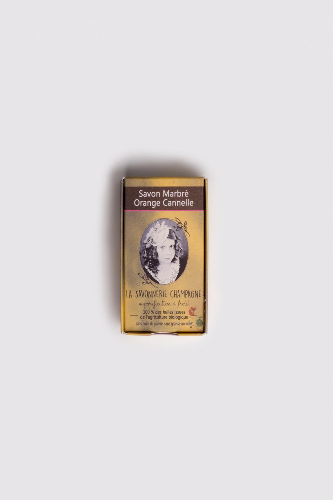 Savon saponifia a froid huile essentielle orange cannelle