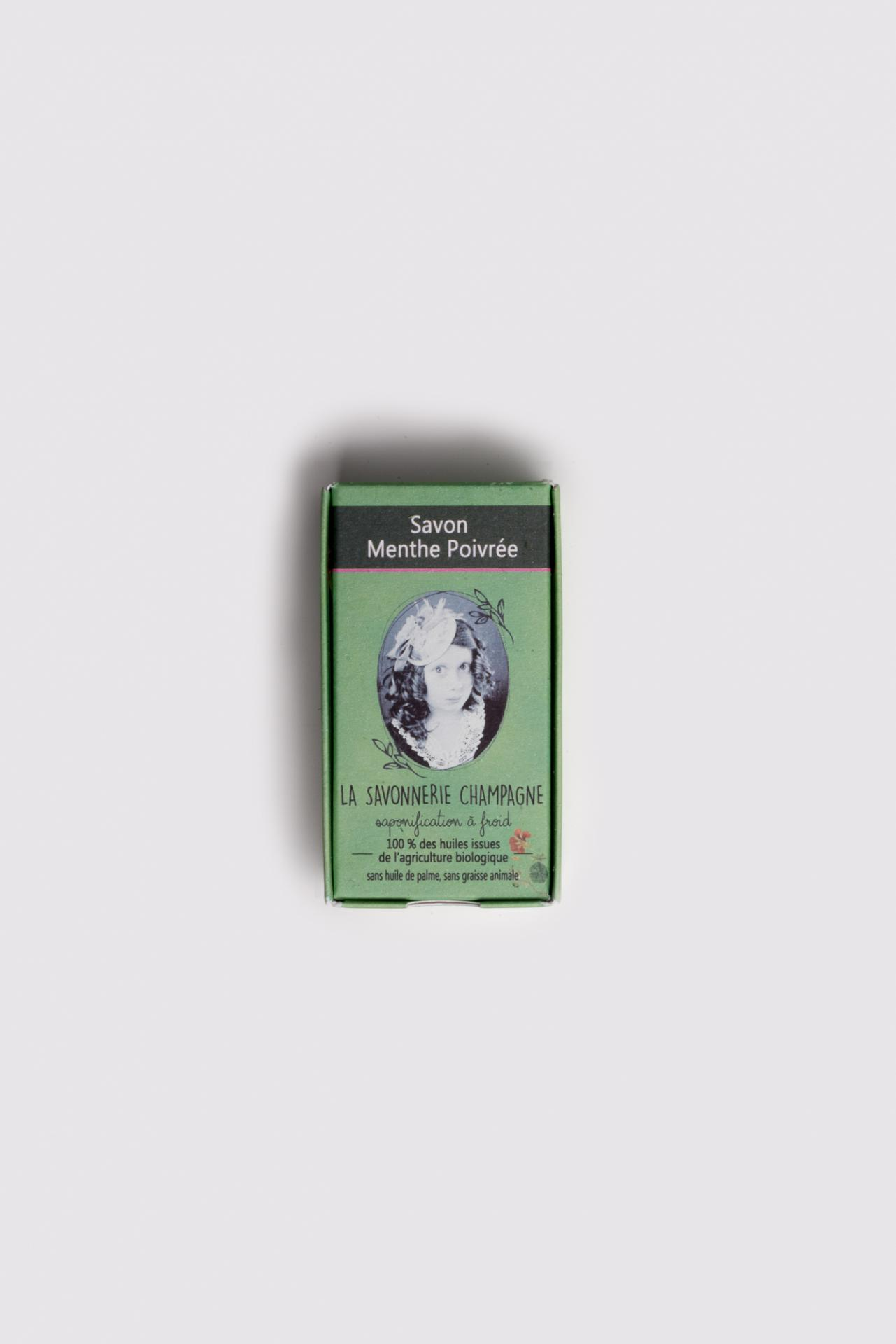 Savon saponifia a froid nature et progra s huile essentielle menthe 1