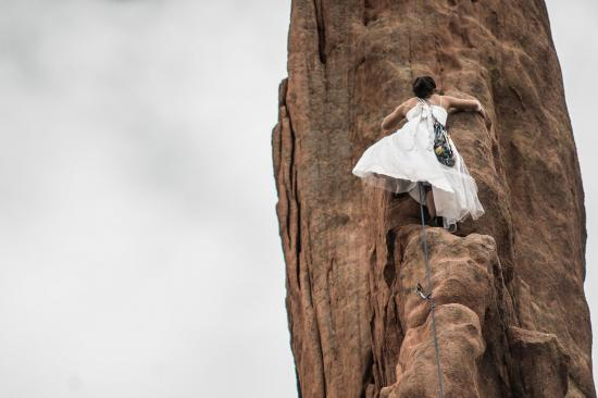 Woman climb 1